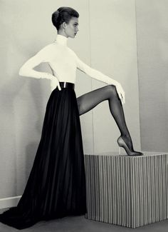 Karlie Kloss forAcne Paper Winter 2012 by Roe Ethridge