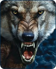 Shop a great selection of Big Bad Wolf Mink Blanket. Find new offer and Similar products for Big Bad Wolf Mink Blanket. Wolf Growling, Scary Wolf, Snarling Wolf, Wolf Tattoos Men, Wolf Hybrid, Wolf Face, Wolf Tattoo Design, Bad Wolf Tattoo, Faux Fur Blanket