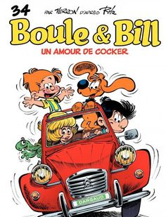 Boule & Bill - Un amour de cocker