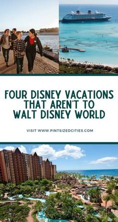 When you think about a Disney Vacation what comes to mind? If you're like most of us, it's Walt Disney World. What if I told you that Disney has awesome vacations around the world that [. Disney World Florida, Disney World Vacation, Disney Cruise Line, Disney World Resorts, Disney Vacations, Disney Trips, Walt Disney World, Disney Travel, Best Vacations