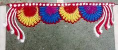Border rangoli designs are usually made at the entrance of pooja room or the house. People also make border rangoli along the exterior wall of the house. Rangoli Designs Photos, Beautiful Rangoli Designs, Pooja Rooms, Indian Festivals, Photo Galleries, Traditional, Collections, Decorating, My Favorite Things