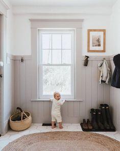 Küchen Design, House Design, Modern Design, Design Ideas, Toy Storage Baskets, Playroom Storage, Room Organization, Farmhouse Laundry Room, Interiores Design