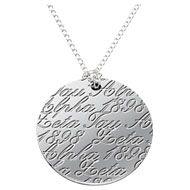 ZTA Script Necklace - Yes please! :)