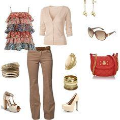 Summer Casual, created by polly-12 on Polyvore