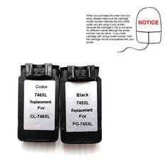 1set Remanufactured PG745 PG-745 PG745XL Ink Cartridge PG-745XL CL-746XL for Canon MG2470 MG2570 IP2870