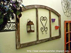 Com aberturas antigas.. - Jeito de Casa - Blog de Decoração