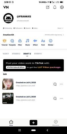 VN Video Editor Maker (Pro) menjadi salah satu aplikasi populer 2020 pengeditan video di Google Play Store yang sudah mendukung dengan kualitas 4K UHD (60Fps) dan BitRate 124.42 MBps. 4k Uhd, Android Apps, Editor, How To Get, Templates, Youtube, Musik, Stencils, Vorlage