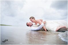Why not make photos after your wedding. Do a little trash the dress in the ocean? These weddingpictures are made on the beach on Ameland. Make Photo, Around The Worlds, Ocean, Beach, Photos, Dress, Wedding, Wedding Pictures, Weddings