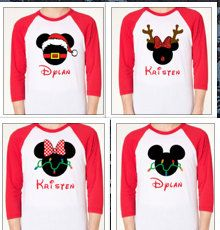 disney christmas personalized family by littlebirdipapershop