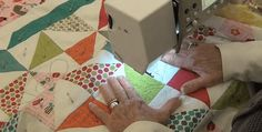 Two Excellent Videos Cover Every Step! Have you ever struggled with quilting a large quilt on your sewing machine? If so, you know how challenging it can be to stitch the layers together without having the bulk of the quilt get in your way or pull on the needle. While there are many techniques for …