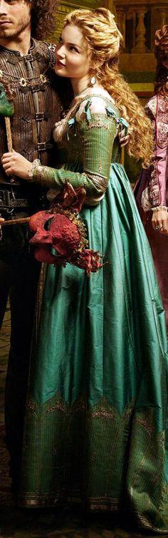 The Borgias, pretty dress!