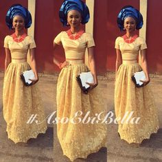 Timeless & Fashionable: The Ultimate Aso Ebi Styles For That Much Anticipated Big Day! African Dresses For Women, African Fashion Dresses, African Women, African Beauty, African Lace, African Wear, African Attire, Kente Styles, Aso Ebi Styles