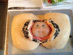 Haha...baby shower cake