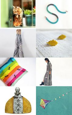 Colorful Summer by Ale on Etsy--Pinned with TreasuryPin.com