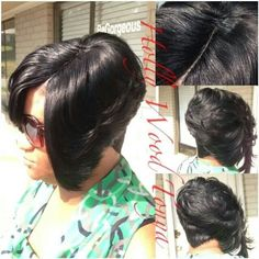 Astounding 27 Piece Quickweave Hair Pinterest Hairstyle Inspiration Daily Dogsangcom