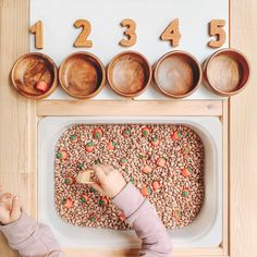 🎃 Pumpkin Picking 🎃 I know, I know pumpkins don't grow underground, but for this activity let's just go ahead and pretend they do mmkay. Toddler Sensory Bins, Sensory Activities Toddlers, Toddler Play, Montessori Activities, Infant Activities, Sensory Play, Sensory Diet, Fun Activities, Montessori Playroom