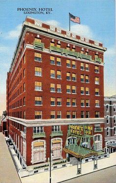 The old Phoenix Hotel downtown Lexington, Kentucky Kentucky Horse Park, Kentucky Derby, Great Places, Beautiful Places, 7 Continents, My Old Kentucky Home, Ohio River, Horse Farms, Historical Society