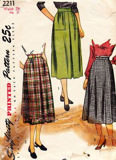 Finished: 1940s Simplicity diamonds skirt & Alma blouse | by gum, by golly!