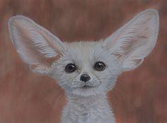 Fennec fox by *Sarahharas07 on deviantART