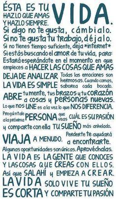 Tu vida...