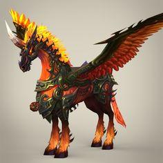 Fantasy_flying_knight_horse_01