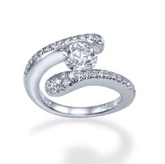 Engagement Ring With 100ct DE/SI1SI2 100 Natural by shireeodiz, $6,075.00