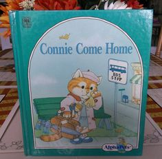 AlphaPets  Connie Comes Home a Vintage by TheLazyBeeBookstore, $1.99