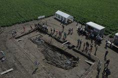 dronten opgraving rietweg betreft een vrachtschip uit de eerste helft van de 17e eeuw.