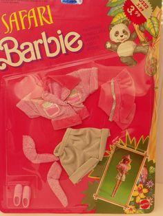 Vintage Mattel Barbie Safari Moden 1593 NRFB 1988 von ShersBears
