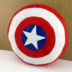 Amazon.com - The Avengers Captain America Shield Throw Pillow Cushion Plush Stuffed Toy -