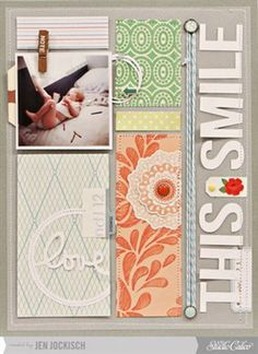 Studio Calico October Kit - Roller Rink - This Smile - Club CK - The Online Community and Scrapbook Club from Creating Keepsakes