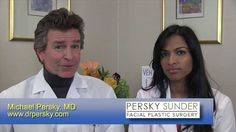 How is a two-doctor consultation valuable for a patient seeking facial plastic surgery?  Michael Persky, MD, and his associate, Sarmela Sunder, MD explain how they consult with new patients to help them achieve their goals.  Dr. Persky is the founder of the renown Persky Sunder Facial Plastic Surgery practice in Encino, California. For more information or to make an appointment visit www.drpersky.com