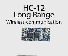 Long range, 1.8km,  Arduino to Arduino wireless communication with the HC-12.