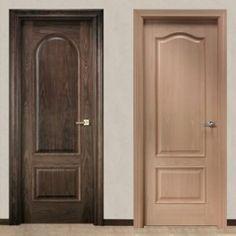Espejos con marco de melanina de diversas medidas y for Puertas de madera para cuartos