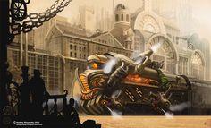 Steam Train by sinyavsky