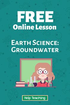 Groundwater is water found under the ground. Groundwater includes all water held within the soil, moving through pore spaces in rocks and soils, and stored underground. Click on the link to learn more about groundwater! #scienceed #stem #onlinelesson #onlinelearning