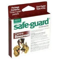 Safe-Guard (Fenbendazole 22.2%) Canine Wormer, 4 Grams