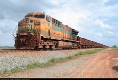 Foto RailPictures.Net: EFC 2005 EFC - Estrada de Ferro Carajás GE ES58ACi no Campo de Perizes, Maranhão, Brasil por Cristiano Oliveira