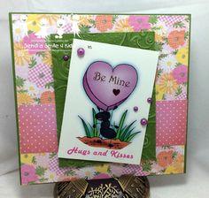 Berni Cuttino  Valentine / Love  card for Send a Smile 4 Kids