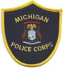 MICHIGAN POLICE CORPS PATCH