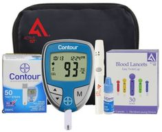 Diabetes Testing Kit (Bayer Contour Meter + 50 Contour Test Strips + 50 Activ... - http://health-beauty.goshoppins.com/medical-mobility-disability/diabetes-testing-kit-bayer-contour-meter-50-contour-test-strips-50-activ/