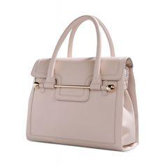 Viktor   Rolf Leather Bar Accent Tote - Textured Leather Bag - ShopBAZAAR e5bb2d4b74953