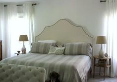DIY Headboard by leila