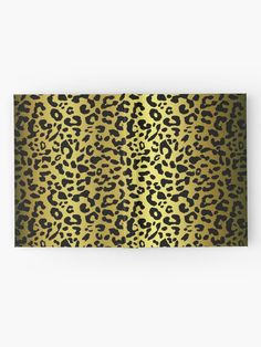 'Gold and black metallic leopard spots, animal fur print' Hardcover Journal by cool-shirts