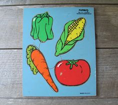 Vegetables.   Playskool