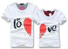 camisetas para parejas - Buscar con Google