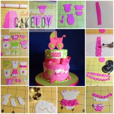 .baby shower cake decorations