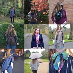 10 Different Ways To Wear A Scarf