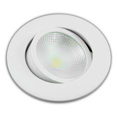 LED Einbaustrahler 5W Weiß Rund COB