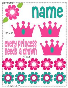 Princess cranial band decoration
